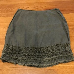 Tommy Bahama Skirt 100% linen size 4